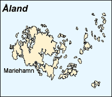 Åland Islands Map