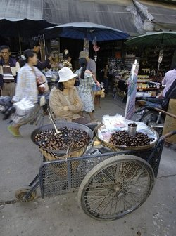 Street in Myanmar. Picture provided by Classroo Clipart (http://classroomclipart.com)