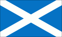 Missing imageFIAV_48.pngImage:FIAV_48.png  The flag of Scotland, with a traditionally coloured field (roughly Pantone300).