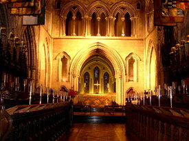 St Patrick's Cathedral was the Chapel of the Order.
